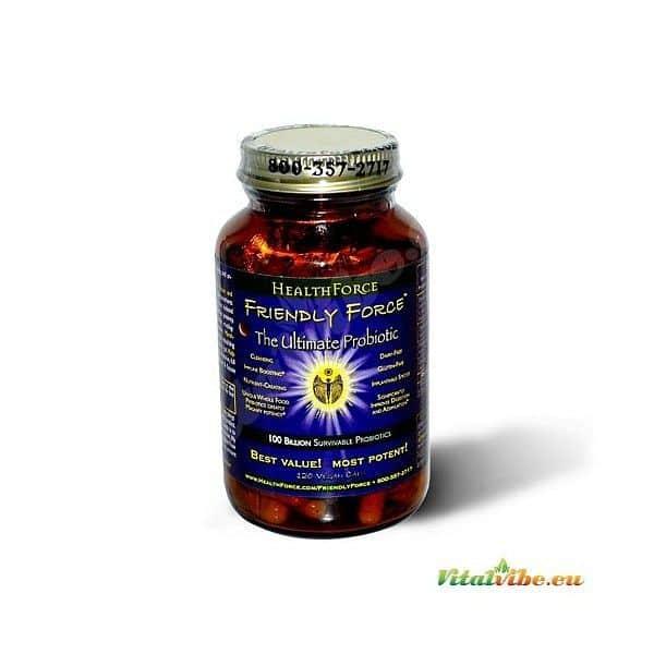 Friendly Force™ veganské probiotika - 120 kapslí