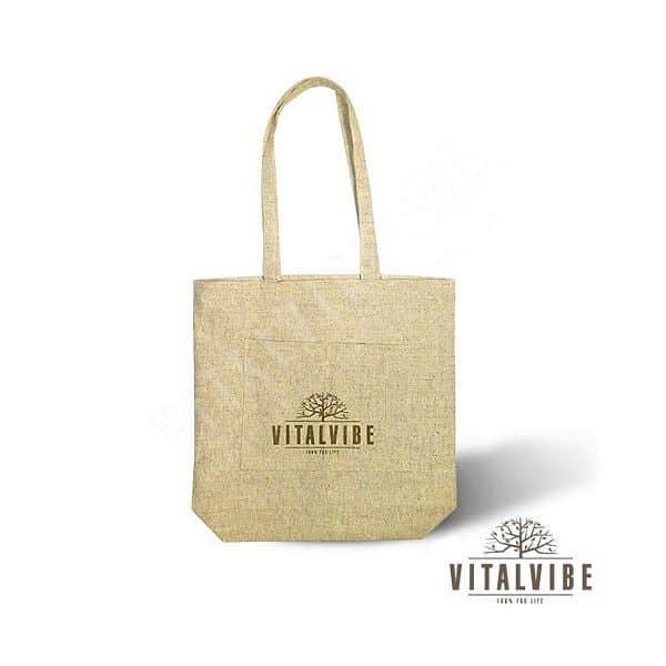 Nákupní taška - velká - 100% přírodní