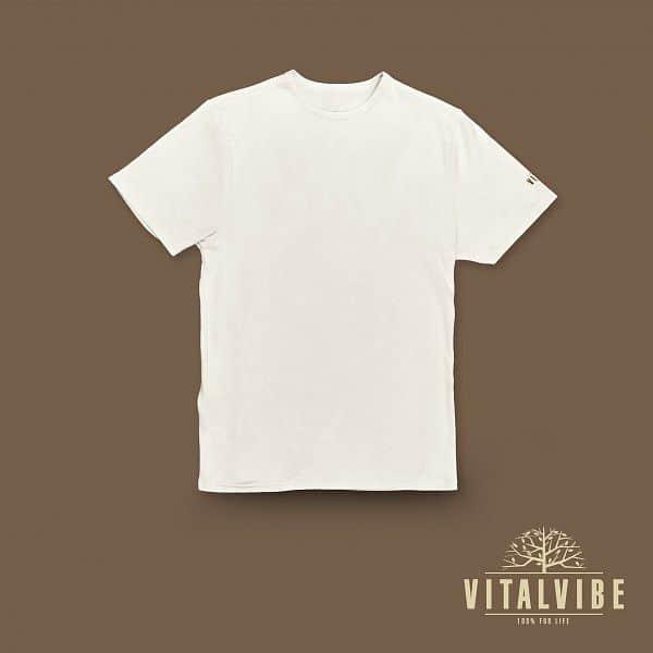 Vitalvibe tričko světlé - pánské M