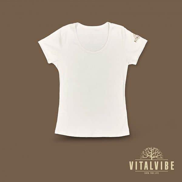 Vitalvibe tričko světlé - dámské M