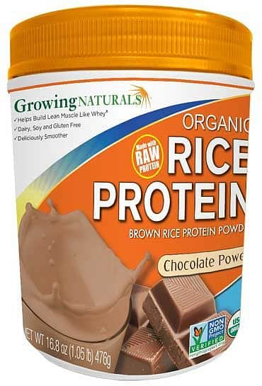 Rice Protein Isolate Powder Chocolate Power 952g