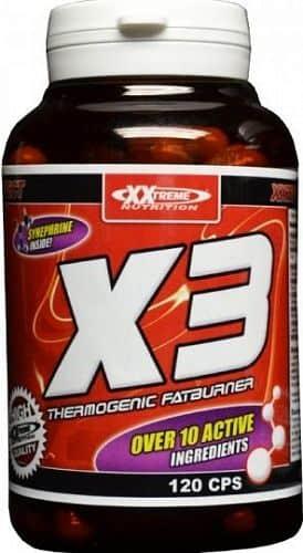 XXTREME NUTRITION X3 - Thermogenic Fatburner 120 kapslí