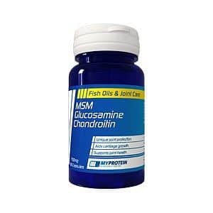 MSM Glucosamin Chondritin 120kps.