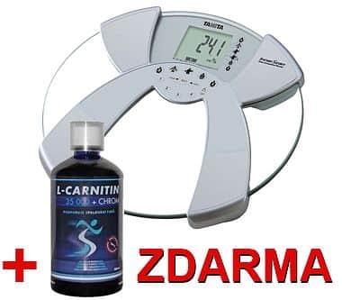 Osobní digitální váha Tanita BC-532 + L-Carnitin 35 000 ZDARMA