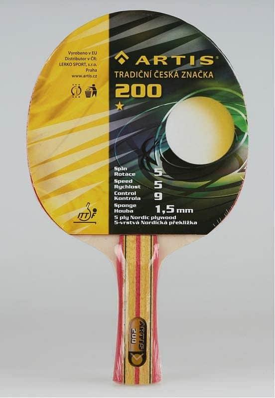 Raketa na stolný tenis ARTIS 200