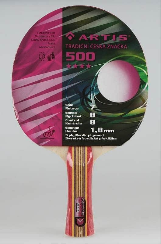 Pálka na stolní tenis ARTIS 500
