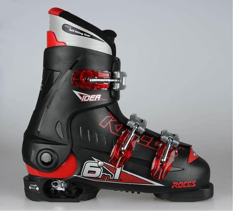 Sjezdové boty Roces IDEA černé Černé 30-35