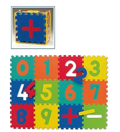 Dětská puzzle podložka Spartan SET 12 kusů