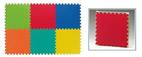 Dětská puzzle podložka Spartan SET 6 kusů